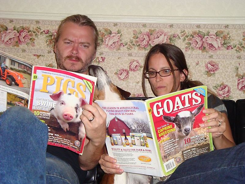 Reading mags