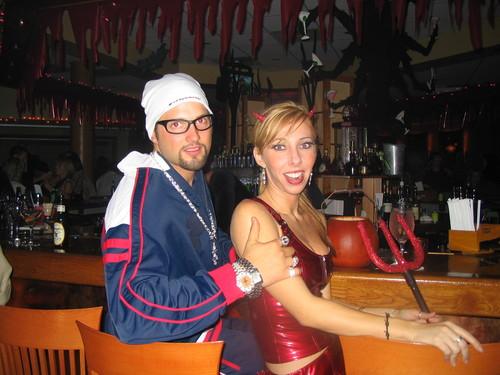 Ali G and sexy devil