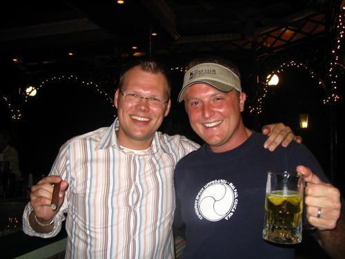 Earle & his German Twin Thomas
