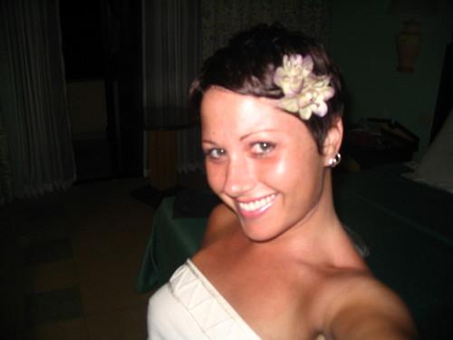 me & my flower